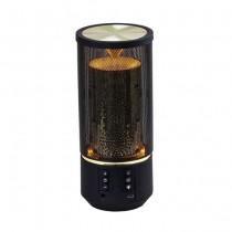 V-TAC SMART HOME VT-6211 2x3W Mini portable Led flame effect light bluetooth speaker with AUX & TF Card slot - sku 7724