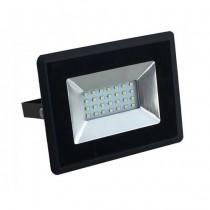 V-TAC VT-4021 20W LED floodlight ultra slim e-series day white 4000K black body IP65 - SKU 5947