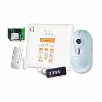 Bentel BW30-KV Kit d'alarme sans fil GSM / GPRS communicateur + détecteur IR avec caméra