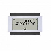 Termostato touch screen da parete Batteria Nero Bpt TA/500 BK