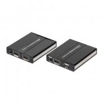 Extenseur RX+TX HDMI+USB 1080p UTP cat5e/cat6 over ip - 60M