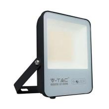 V-TAC Evolution VT-4961 Faro led 50W slim alluminio nero super efficienza 150LM/W bianco caldo 3000K IP65 - SKU 5998