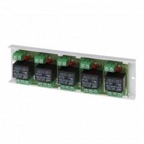 Module de relais 12V 2A - 5 sorties REL-C/NO/NC Pulsar 90AWZ520