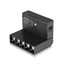 V-TAC PRO VT-4210 Magnetic Linear Track light faretto magnetico da binario 10W bianco caldo 4000K CRI≥90 30° corpo nero - sku 7963