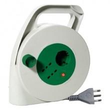 Enrouleur de câble 10M 3G1,5 S17 norme italienne avec 2P17/11+1P30+tc découpe thermique Fanton 01283