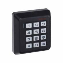 Autonomes Code-Schloss 12V für Innen mit RFID-Lesegerät - Schwarz