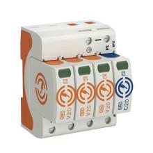 OBO Bettermann 5095253 Überspannungsableiter V20 3-polig + NPE 280 V