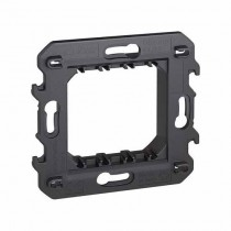 2-module support supplied with protective shell Bticino Living Now K4702