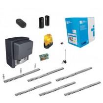 Kit Came U2313 BX-78 Automation for sliding gate 800KG 220V + 6M Galvanized Rack
