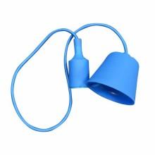 E27 Decoration Pendant Holder 1MT - Mod. VT-7228 SKU 3476 - Blue