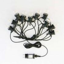 V-TAC VT-70510 Ampoule led guirlande lumineuse chaîne 0,4W 3000K connectable PIN 5M avec ampoule eu prise - sku 2728