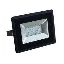 V-TAC VT-4021 20W LED floodlight ultra slim e-series cold white 6500K black body IP65 - SKU 5948
