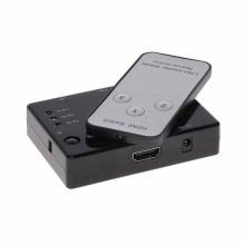 Switch HDMI 1.4b 1080p 3D 3IN - 1OUT + Fernbedienung