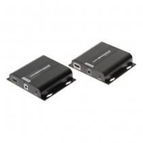 RX+TX Extender HDMI UHD 4K UTP cat5e/cat6 over ip - 120M