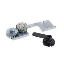 Adapter für Öffnungswinkel 180° Elektromechanischer Unterflurantrieb 770 N FAAC 490 111