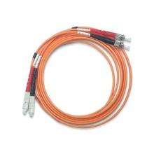 2-fibers multi-mode optical patch cord OM2 LSZH LC-SC length 1 meter orange colour - Fanton 24279
