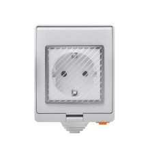 Presa Intelligente Smart Plug Wifi standard EU con temporizzazione Waterproof IP55 SONOFF S55