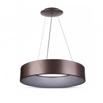 V-TAC VT-25-1-C 20W Led surface smooth pendant coffee color body light warm white 3000K dimmable - SKU 3994