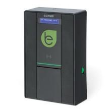 Smart wall box per ricariche di veicoli elettrici dotato di Display 1 Presa Tipo 2 1P+N+T 32A 230Vac~7,4kW IP54 IK08 - Scame 205.W23-B0