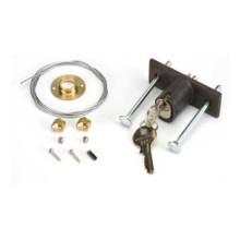 Déverrouillage extérieur à clé pour portes de plus de 15 mm d'épaisseur du n°1 au n°36 FAAC 424591001