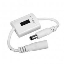 V-TAC VT-8072 Hand wave sensor bed light for led strip white body IP20 - sku 2557