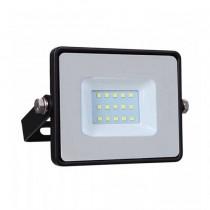 V-TAC PRO VT-10 Projecteur LED 10W slim noir Chip Samsung SMD blanc chaud 3000K  - SKU 424