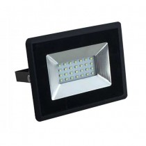 V-TAC VT-4021 faro led smd 20W bianco naturale 4000K E-Series ultra slim nero IP65 - SKU 5947