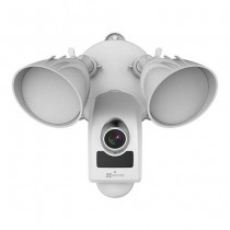 Ezviz LC1 IP-Cam con PIR e lampade led esterno IP66 Wi-fi full hd 2mpx sirena 100db audio slot sd p2p