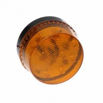 12V Indoor LED Siren optical signaling Orange - 90SO-05