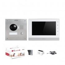 """Kit Videocitofonico Monofamiliare 7"""" Touch 2-Wire Bifilare 2 fili 1.3Mpx  720p Dahua"""
