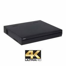 NVR ULTRA HD 4K SMART 1.5U FULL HD 32CH 2xHDMI/VGA 16xPoE-A +eSATA H.265 IVS ONVIF 2.4 Dahua Mod. NVR5432-16-4KS2
