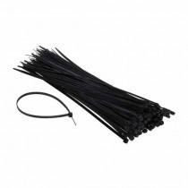 Attache-cable pour câblage 4.6x300mm Noir 100pcs