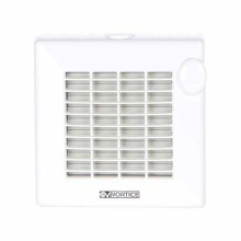 Axial bathroom fan with automatic shutters Vortice Punto M 100/4″ A - sku 11221