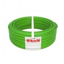 Cavo per automazione cancelli 4X0.50mm doppia guaina in PVC antifiamma super flessibile colore verde 100MT Elan - sku 040451