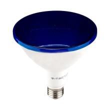 V-TAC VT-1227 Lampadina led smd 17W E27 PAR38 luce blu waterproof IP65 - SKU 92066