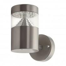 Lampada LED da parete esterno in acciaio inox 3W IP44 EL-14L-UP Kanlux AGARA Mod.18600
