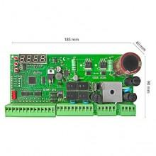Centrale universale START-S10 per 1/ 2 motori automazione 12/24Vdc scorrevoli e basculanti con display