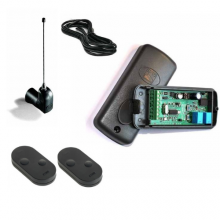 Sistema radio bicanale 2 telecomandi CAME KIT TRA03 12-24v