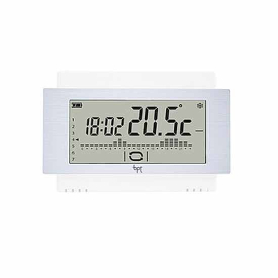 Cronotermostato radio touch screen da parete batteria w for Bpt thermoprogram th 24 prezzo
