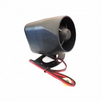 Sirena piezo opzionale 12V per tracker e per uso universale 10W