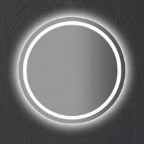 V-TAC VT-8601 25W LED Mirror Light Anti-fog cold white 6400K iron round body bathroom IP44 - sku 40481