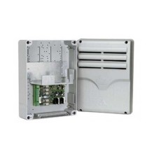 Casing with emergency card fitted to house 3x 12 V - 7 Ah batter