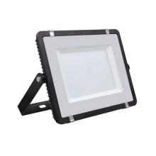 V-TAC PRO VT-150 Faro led 150W slim alluminio nero chip Samsung SMD bianco freddo 6400K - SKU 477