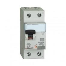 Interrupteur magnétothermique différentiel AC 1p + N 10A 30mA Bticino GC8813AC10