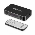 Commutatore Switch Splitter HDMI 4IN - 1OUT porte 1.4b 4K UHD 3D