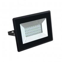 V-TAC VT-4031 Faro LED 30W E-Series super slim nero IP65 bianco freddo 6500K - SKU 5954