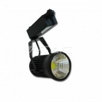 Lampada 30W LED COB RGB Multicolor da binario orientabile