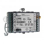 Came RGSM001 modulo GSM Gateway stand-alone per gestione remota automazioni cancelli con ricevente radio integrata