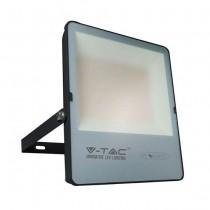V-TAC Evolution VT-49151 Faro led 150W slim alluminio nero super efficienza 160LM/W bianco naturale 4000K IP65 - SKU 6704