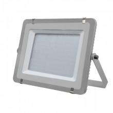 V-TAC PRO VT-300 Projecteur LED 300W slim gris Chip Samsung SMD blanc froid 6400K  - SKU 489